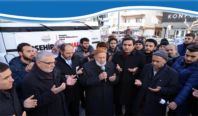 Kırşehir'den Halep'e Dualarla