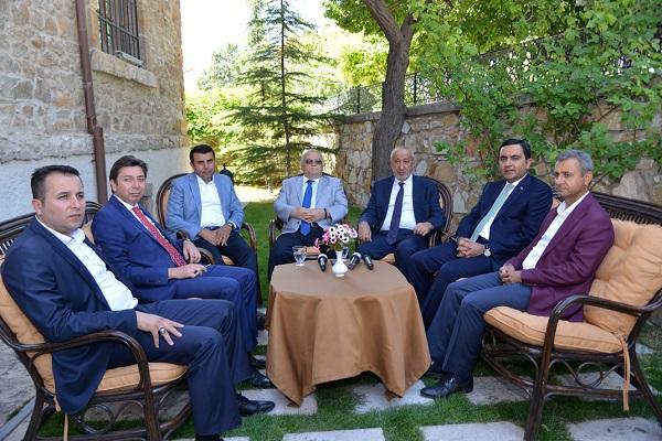 Kırşehirspor'da Başkan Veli Şahin