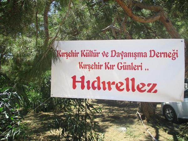 Mersin'de Kırşehir Kır Günleri ve Hıdırellez